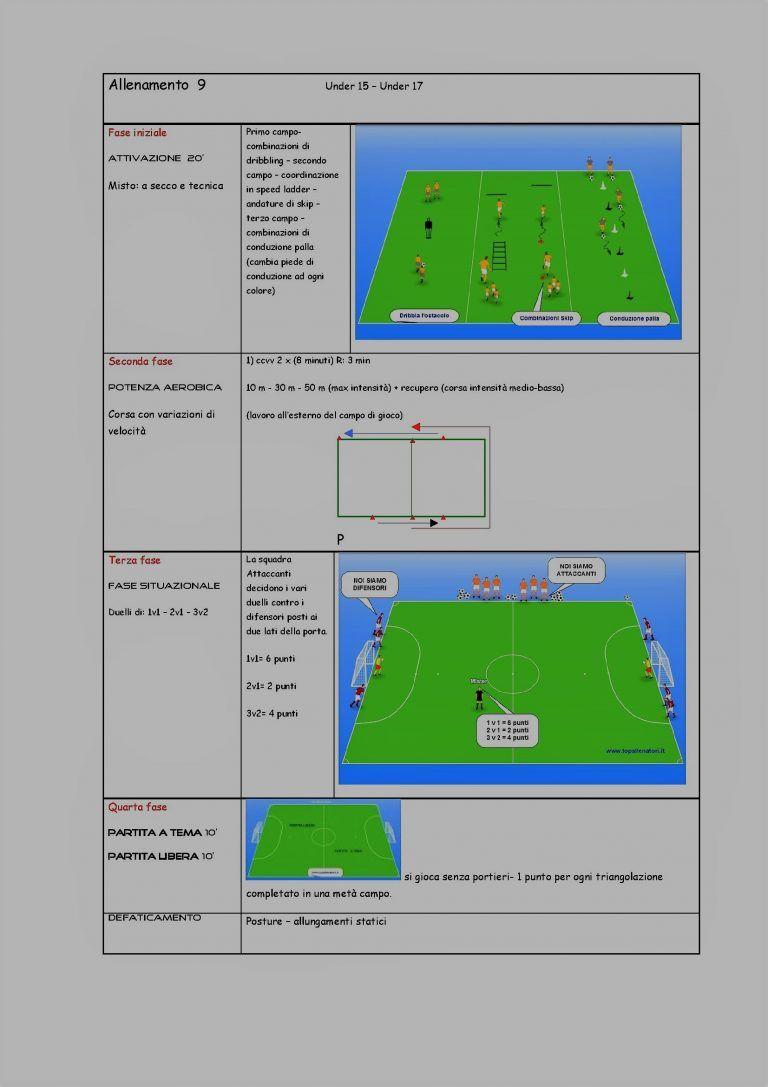 Allenamento 9 Un Estratto Dal E Book 14 Allenamenti Giovanissimi E Allievi U15 17 Allenamento Allenamenti Di Calcio Allenamento Calcistico