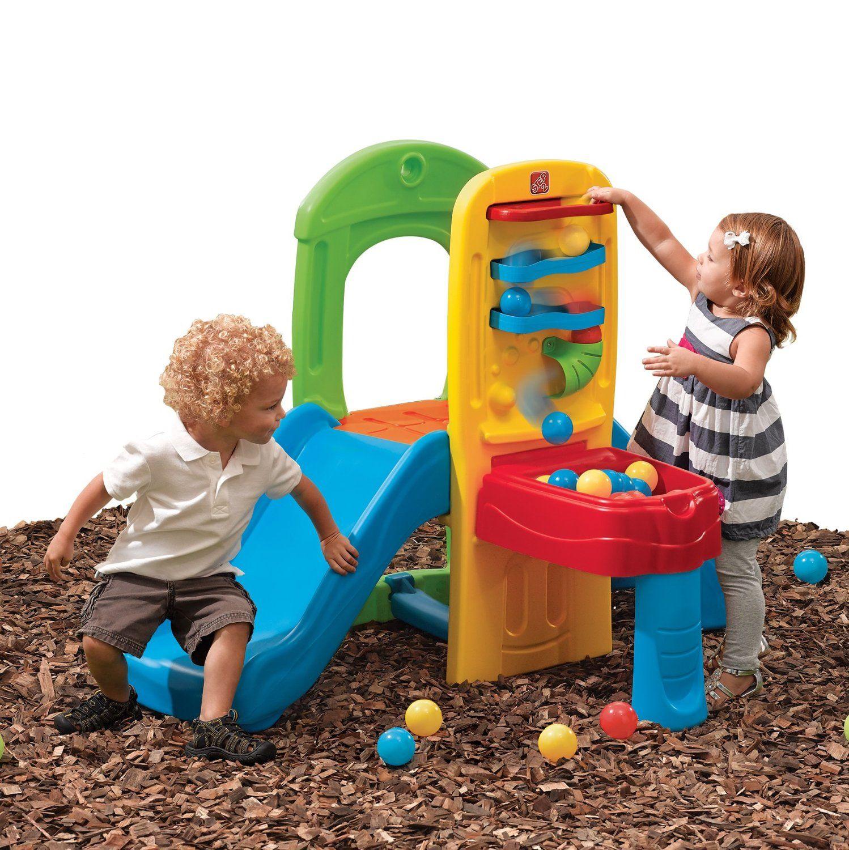 Lovely Amazon.com: Step2 Play Ball Fun Climber: Toys U0026 Games