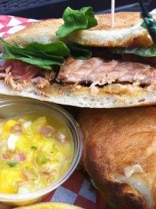 Pam\'s Patio Kitchen- Salmon Sammy | San Antonio\'s Best Food ...