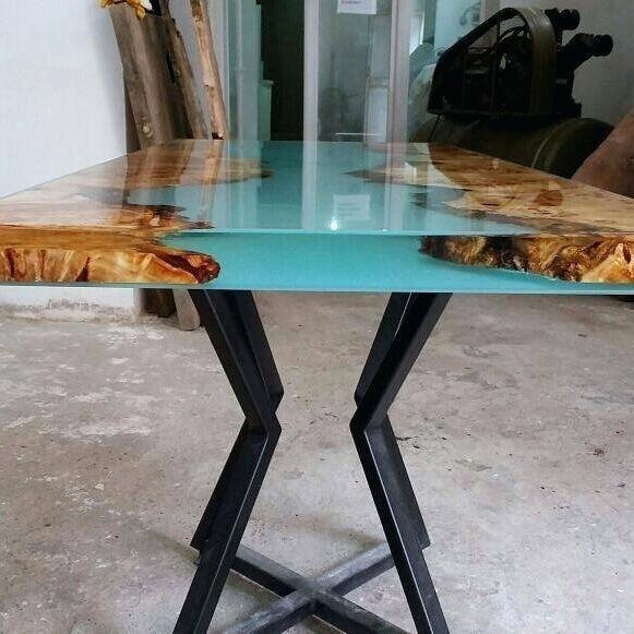 Epoxy Wood Table