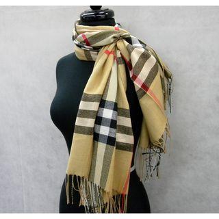 burberry acrylic scarf