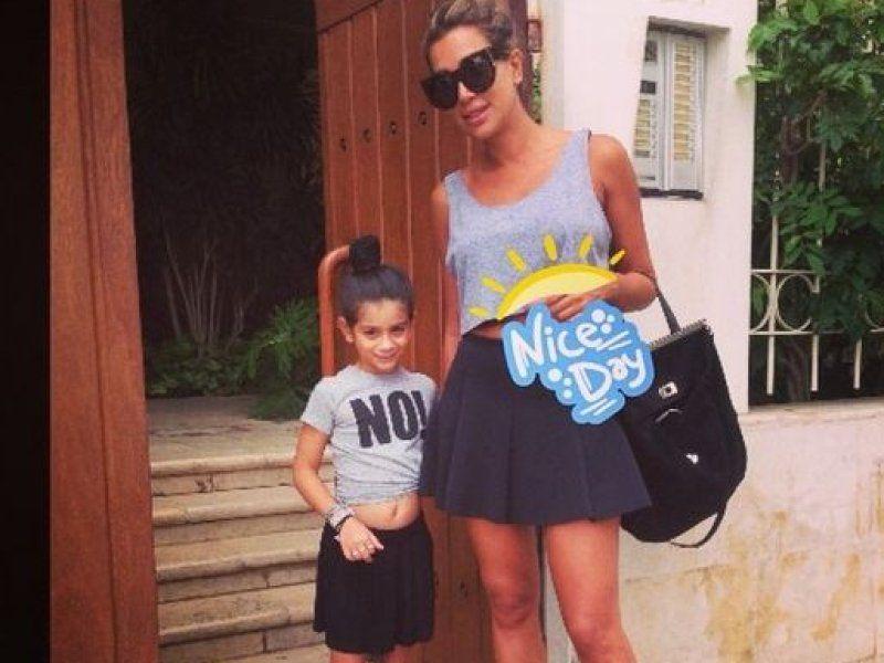 طفلة مايا دياب Fashion Style Stylish