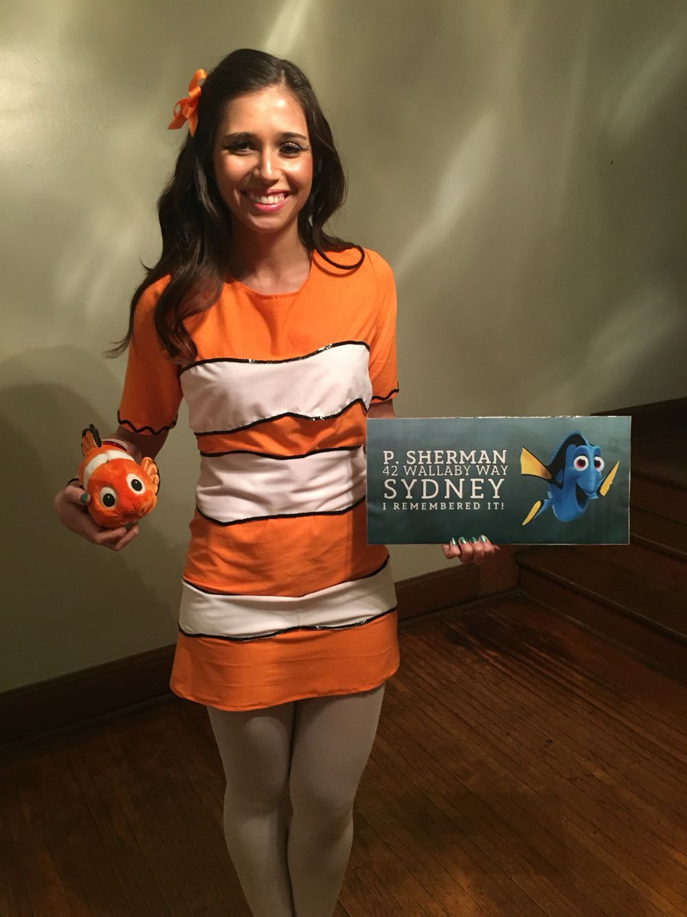 Finding Nemo women's Halloween costume DIY Modest