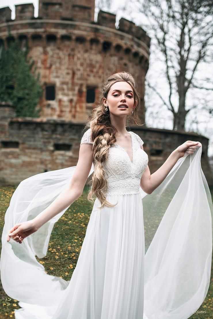 Disney Fairy Tale Weddings Rapunzel Trudys Brides Allure Bridal Wedding Dresses Rapunzel Dress [ 1110 x 740 Pixel ]