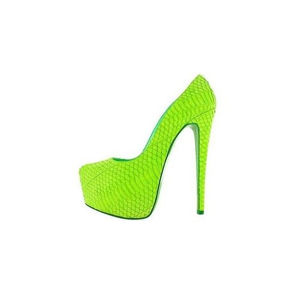 Heels, Red Bottoms | Lime green shoes