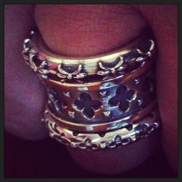 Our silver stacker rings are the perfect option to ramp up your luxury. Available at www.dogstonelondon.com