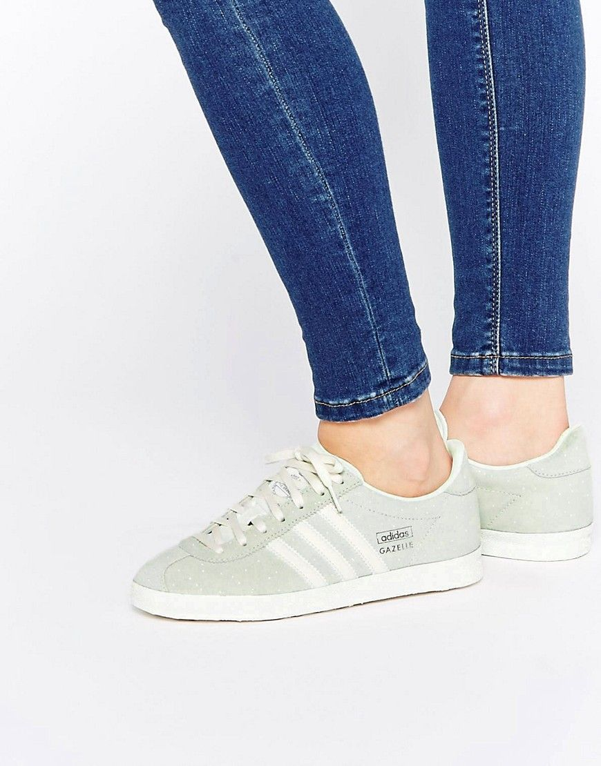 adidas original gazelle ladies trainers