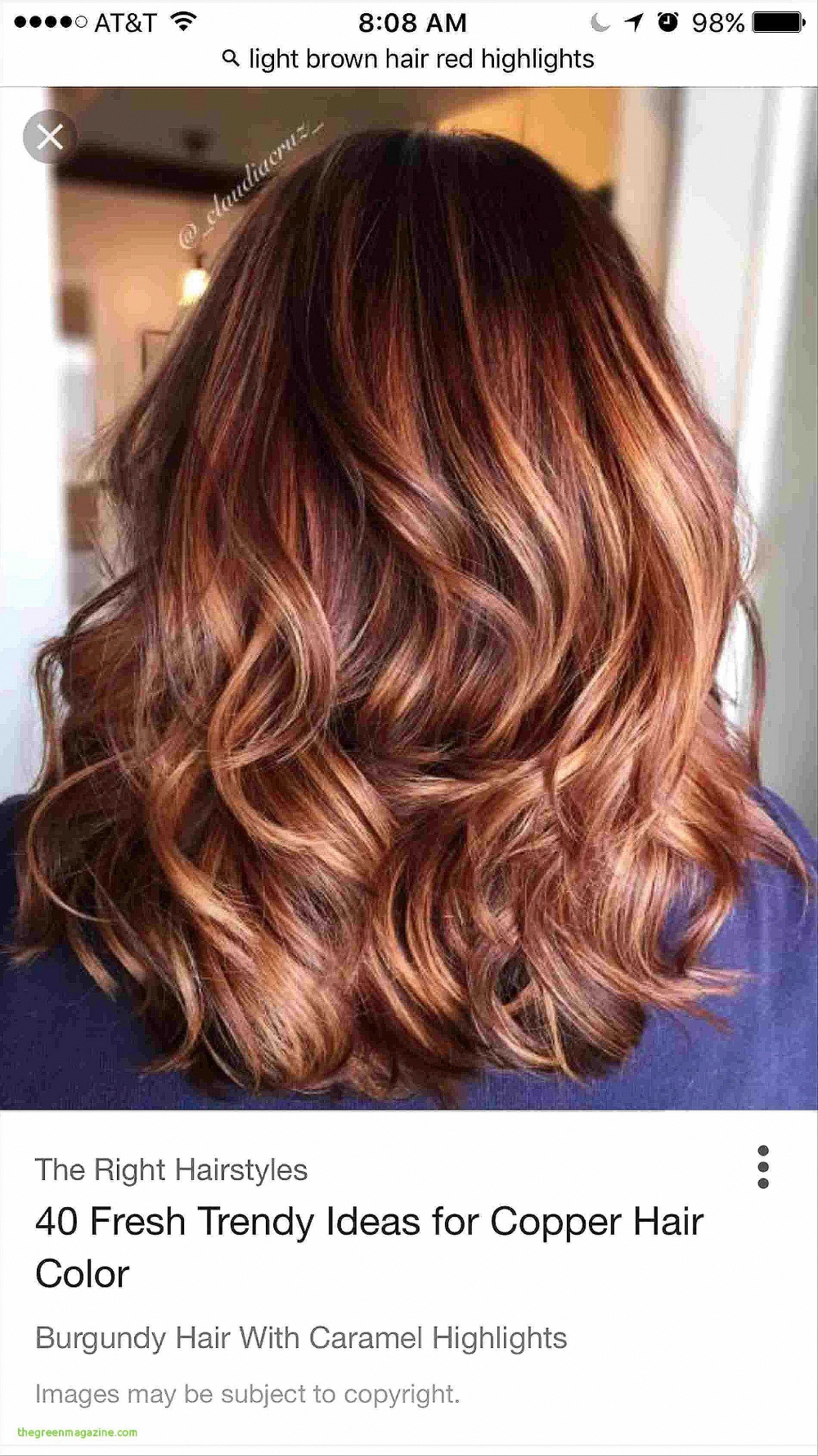 9 Winter Hair Color Trends Best Of Red Hair Colors With ...