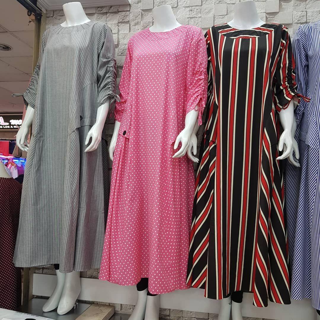 250rb Gamis Bhn Katun Flanel Codoray Allsize Fit Xl Dress Di