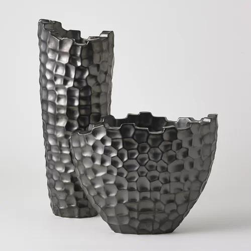 Random Grid Short Vase Short vase, Table vases, Vase