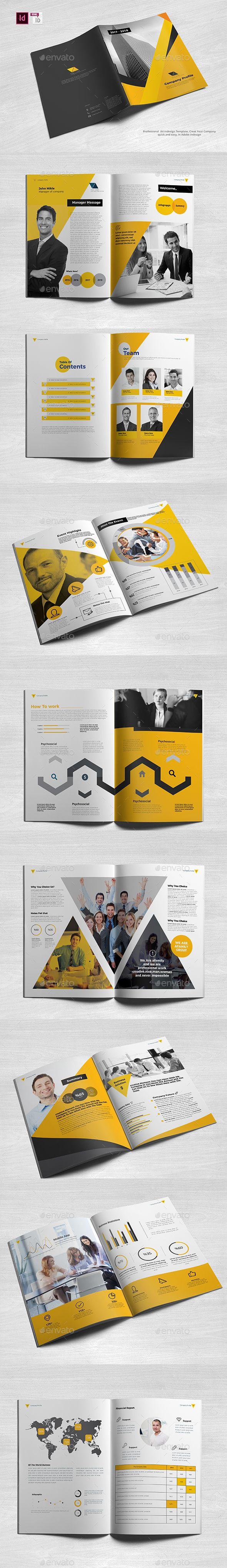 Professional Company Profile A4