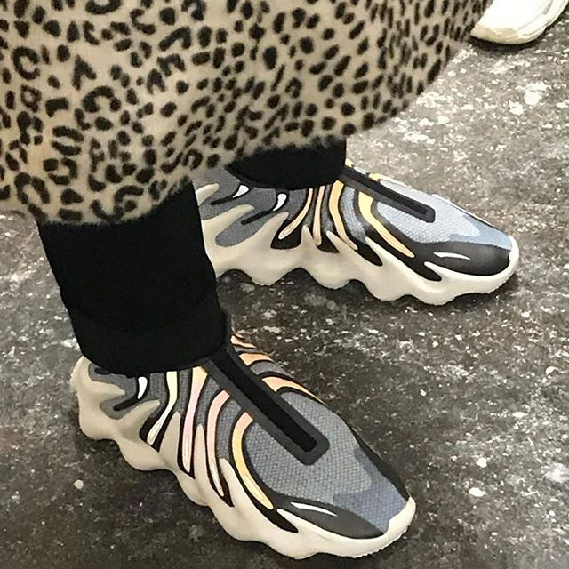 Hypebeast Hypebeastkicks An Image Of An Adidas Yeezy 451 Sample Has Surfaced Online Different To The Version Sporte In 2020 Yeezy Adidas Yeezy New Sneaker Releases
