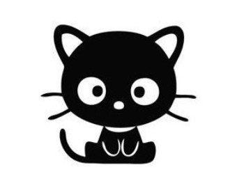 Cute Cat Light Switch Decal Carlaptopwindow Por Stickerstop1 Kitty Kitten Cartoon Cat Clipart