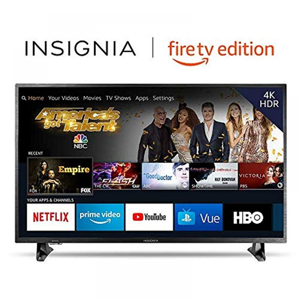 Insignia Ns 43df710na19 43 Inch 4k Ultra Hd Smart Led Tv Hdr