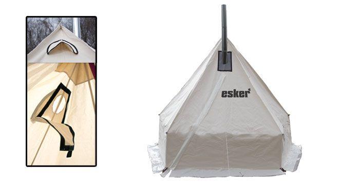 Esker Arctic Fox Winter Hot Tent 9x9 Tent Winter Tent Arctic Fox