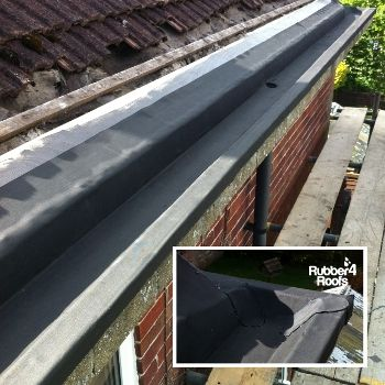 Self Adhesive Membrane Gutter Lining Gutters Gutter Protection Painting Gutters