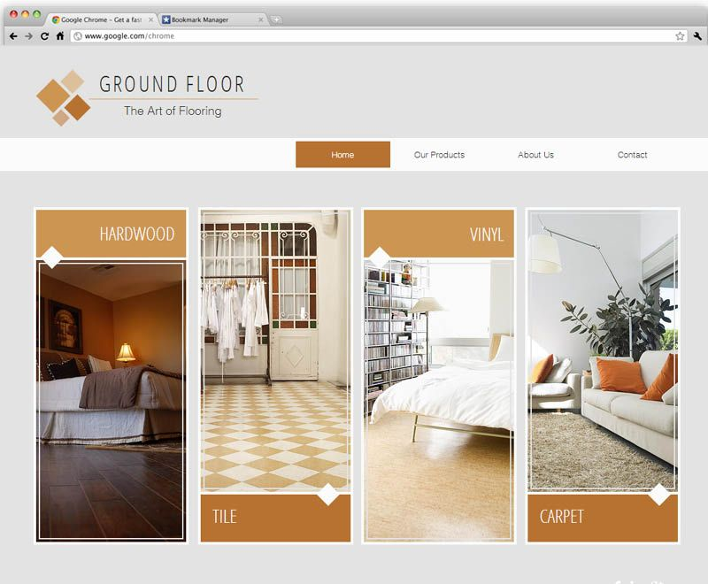 Flooring Company Template Wix Website Templates Business