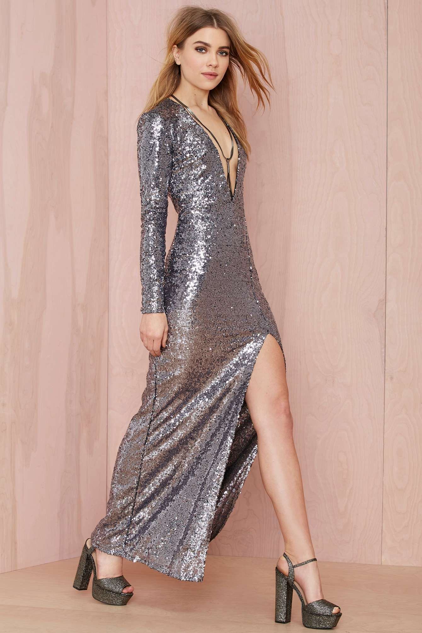 hustle sequin dress 98 | Style Loves | Pinterest