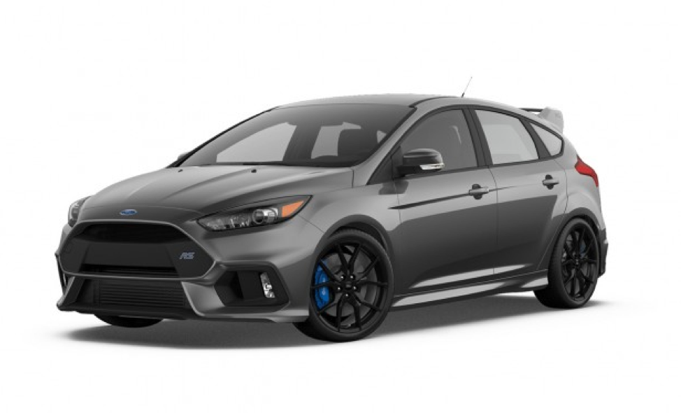 Gray Ford Focus RS Ford focus