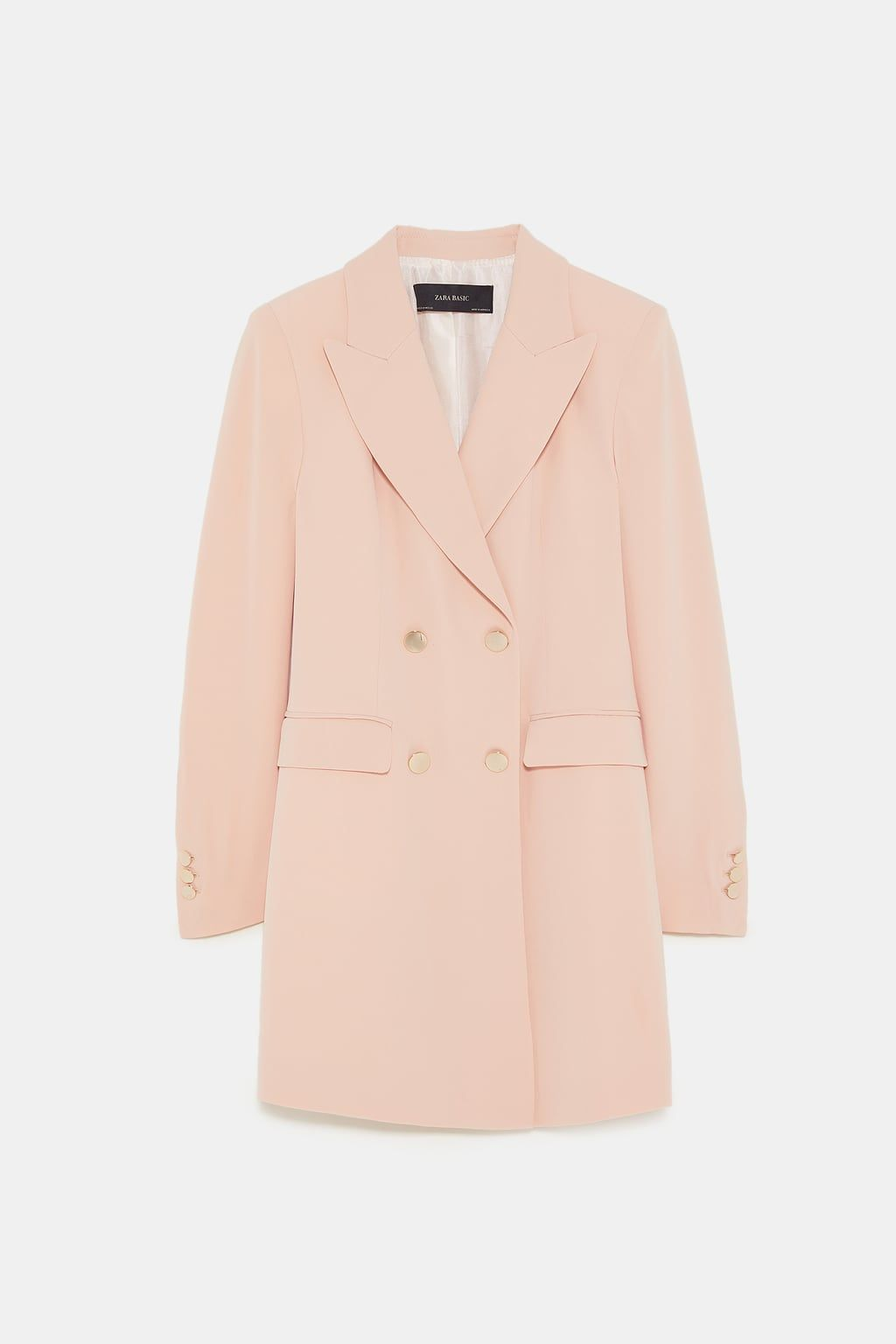 656dbecfc1bb Image 8 of DOUBLE BREASTED COAT from Zara
