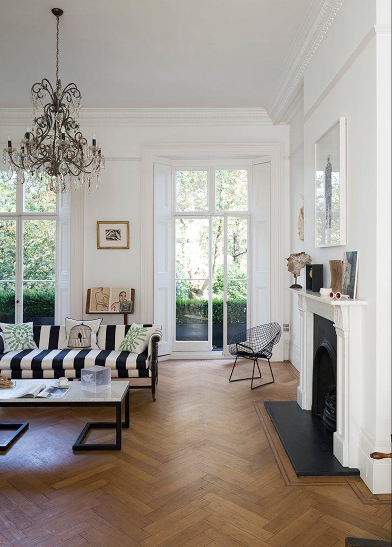 Urban Glamour 15 Living Room Redo Parisian Interior Cozy House #small #townhouse #living #room #ideas