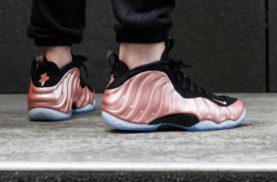 683d64a9e5b62 Release Reminder  Nike Air Foamposite One Elemental Rose (Rust Pink) The Nike  Air