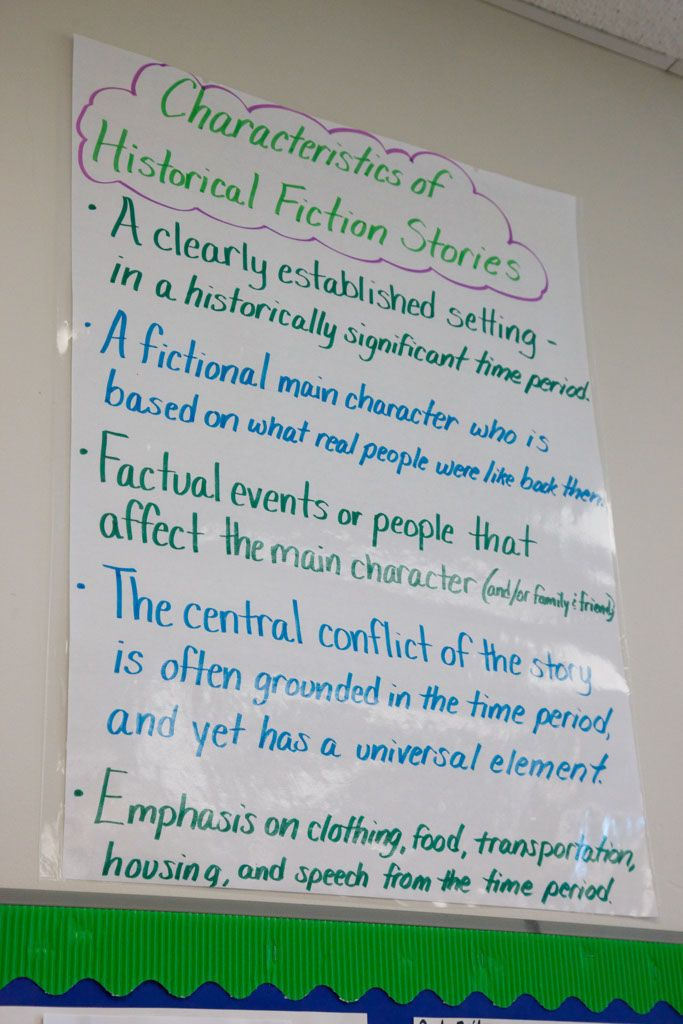 Characteristics of Historical Fiction Stories | Historical ...