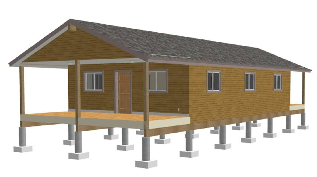 One Room Cabin Plans With Loft | Free Download 25 X 40 One Room Cabin Plans