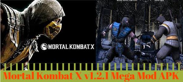 mortal kombat x mega mod apk latest version