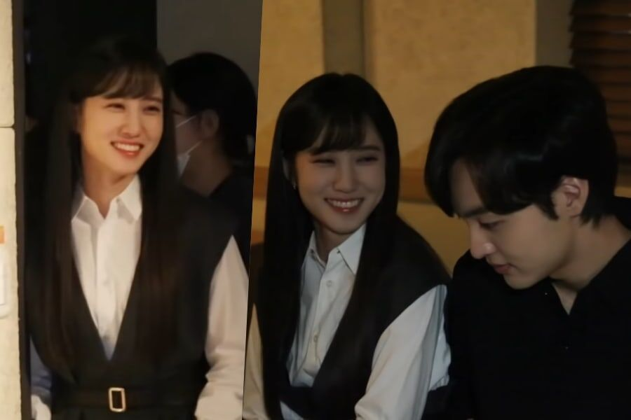 "Watch: Park Eun Bin Can't Stop Teasing Kim Min Jae Behind The Scenes Of ""Do You Like Brahms?"""