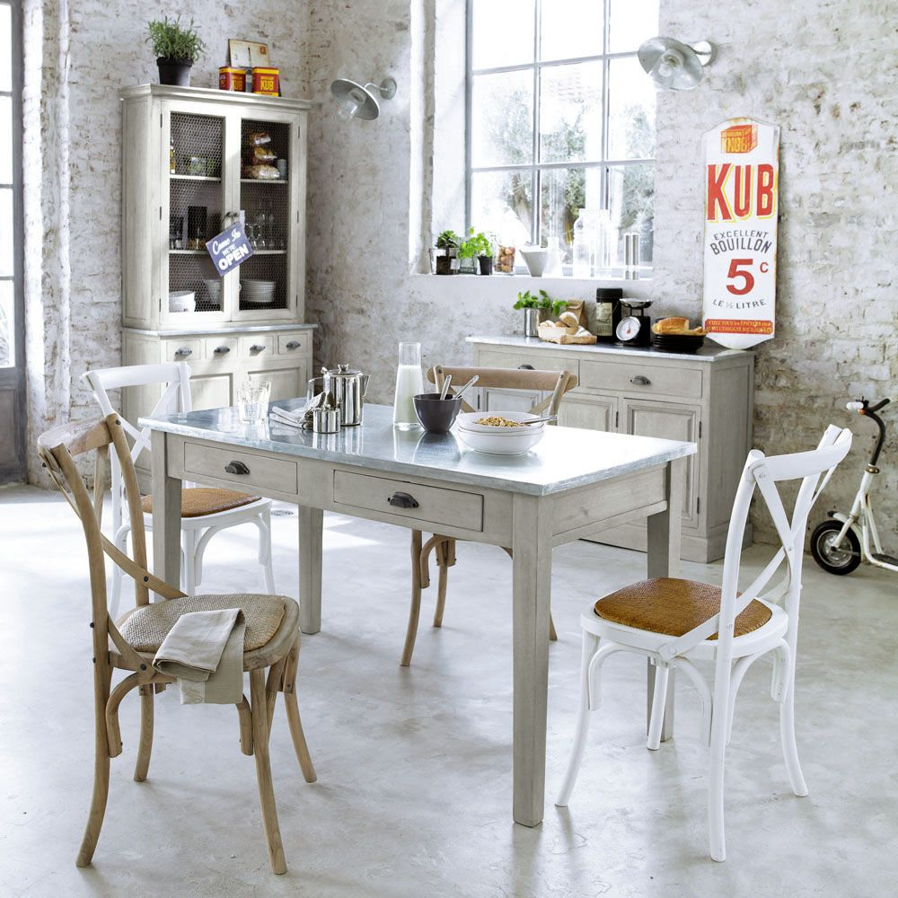 Dining Table Zinc | House and home | Pinterest | Tavolo da pranzo ...