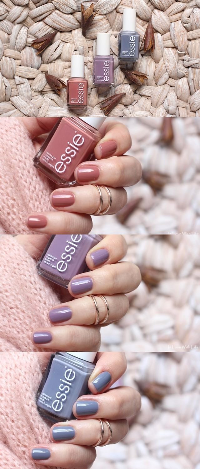 Essie colours for fall hairmakeupnailsskin care in