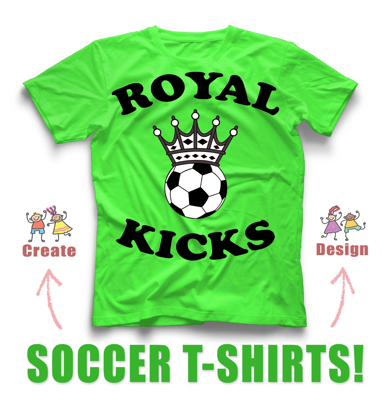 Soccer Custom Shirt Design Idea For Your Team Design And Create