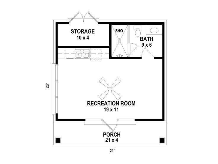 Plan 006p 0004 Pool House Plans Pool House Designs Pool House Bathroom