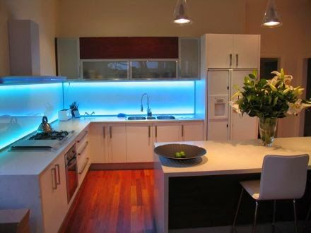 led lighting strips kitchen. How To Install LED Light Strips Under Cabinets Led Lighting Kitchen