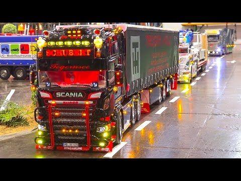 Mega Rc Model Truck Collection Vol 1 Rc Mb Arocs Rc Scania Rc