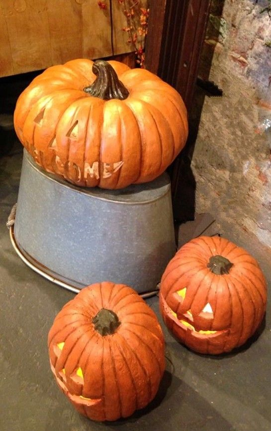 Jack-o-Lanterns add just the right touch inside or out! Halloween