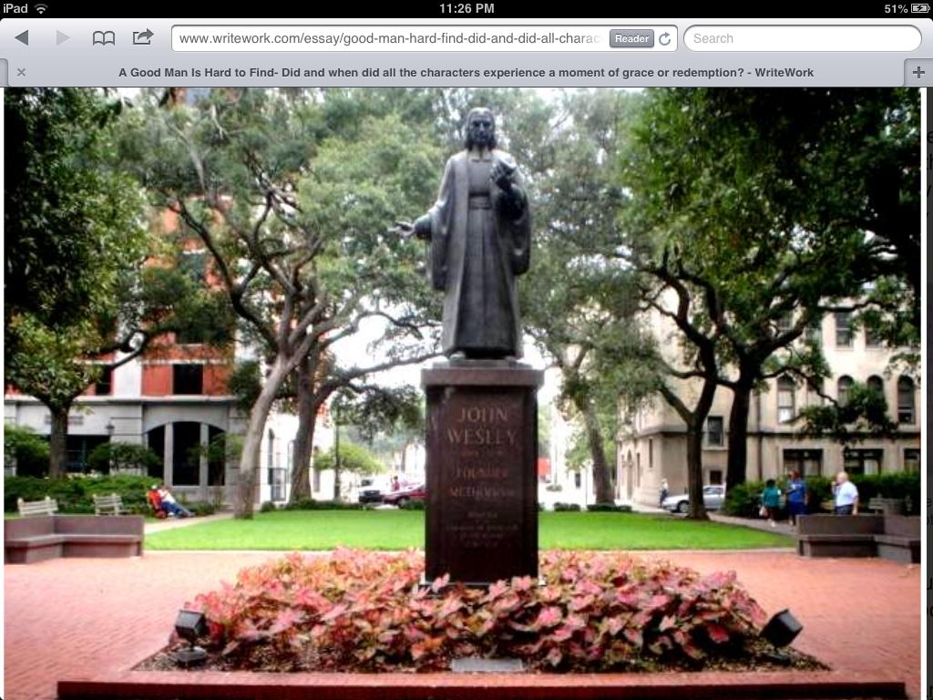 Pin by Polly Stemen on John Wesley Savannah chat, Visit