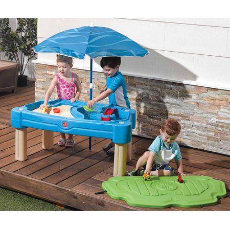 225 & Free Shipping. Buy Step2 Cascading Cove Sand and Water Table with ...