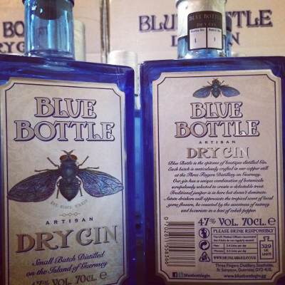 October's Gin of the Month - Blue Bottle from Guernsey