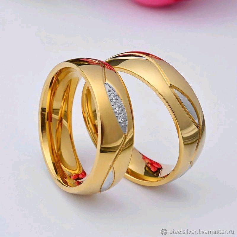 32b69fa702b106 Обручальные кольца из медицинской стали - купить или заказать в  интернет-магазине на Ярмарке Мастеров