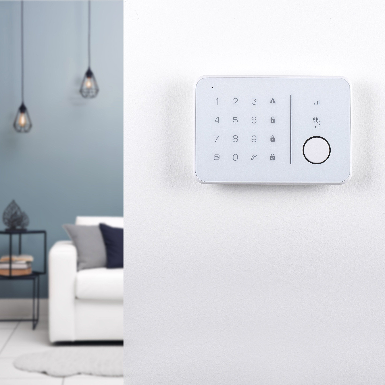 Alarme Maison Sans Fil Connectee Ha7888 Gsm Smartwares Alarme Maison Sans Fil Systeme Alarme Cambrioleur