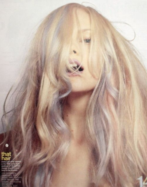 perfect pastel highlights.....I like em.....but It still looks like you need to go see your colorist