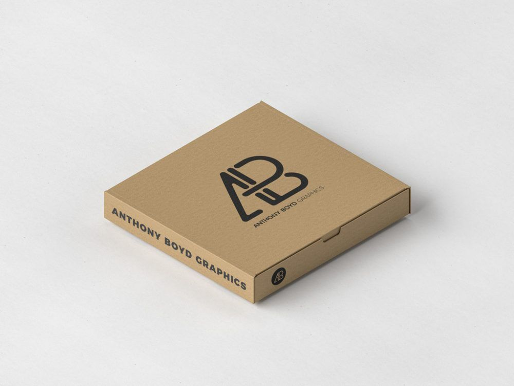 d42bf03d990 Pizza Box Packaging Mockup