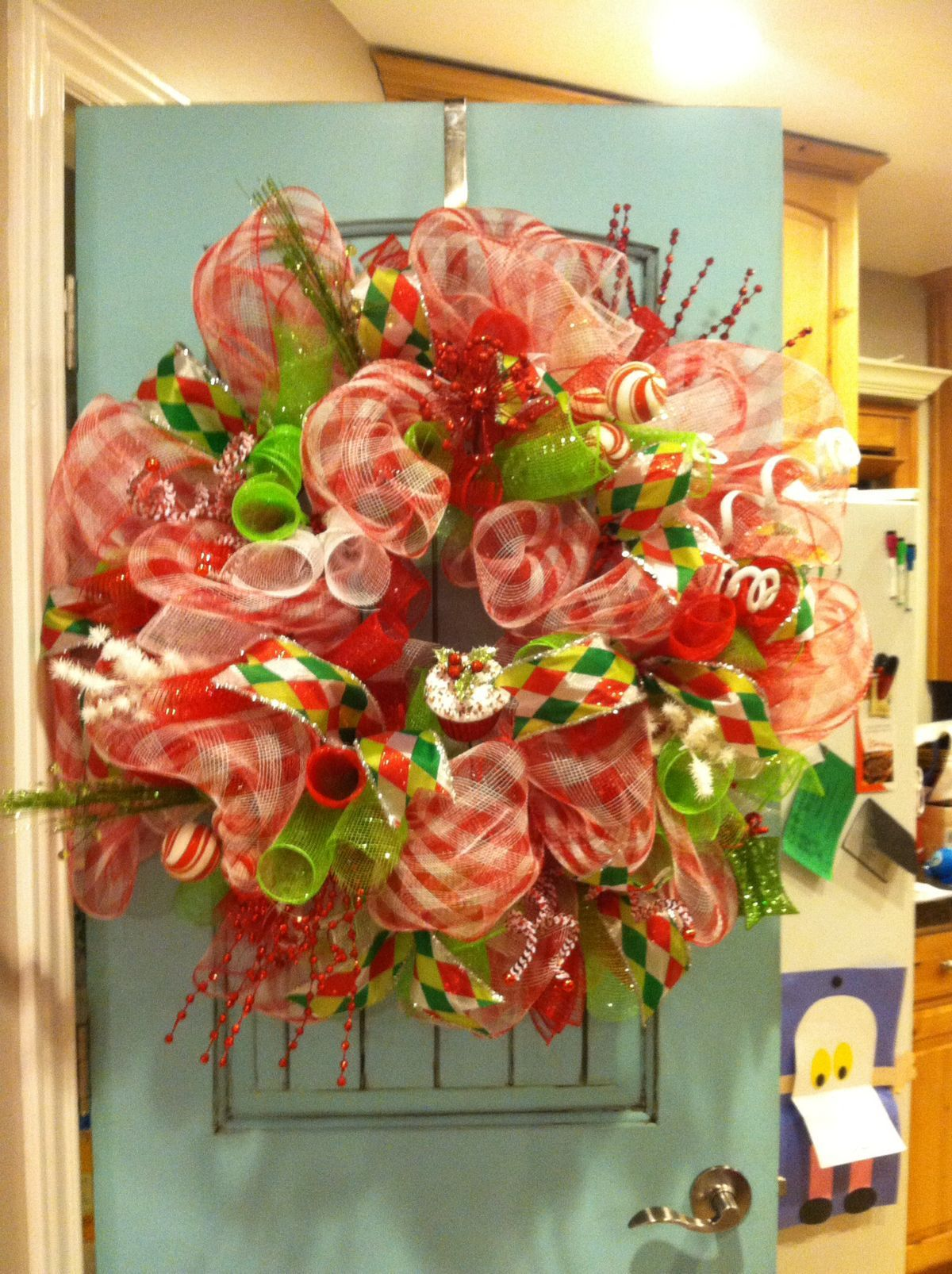 New Christmas Wreath Diy Crafting  See More Amazing Diy