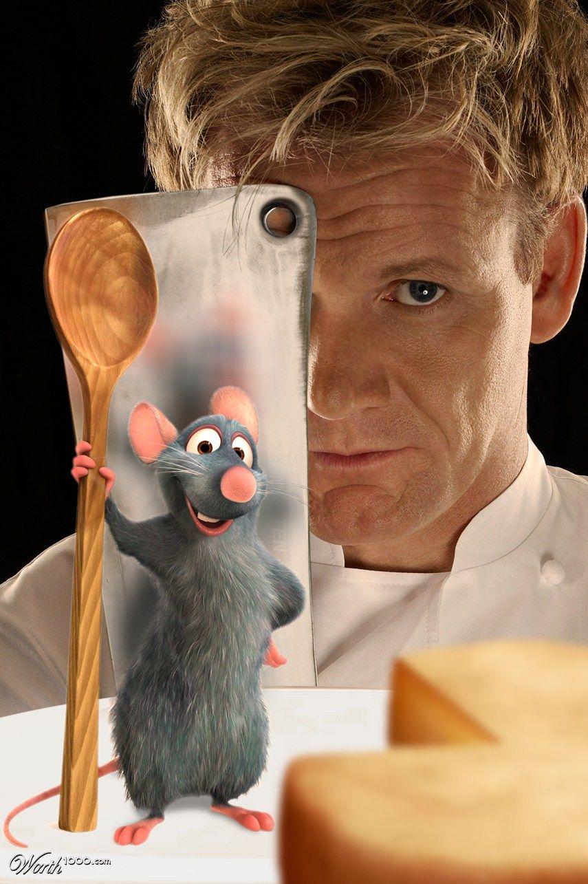 Chef Ramsay Vs Remy Ratatouille Gordon Ramsay Gordon