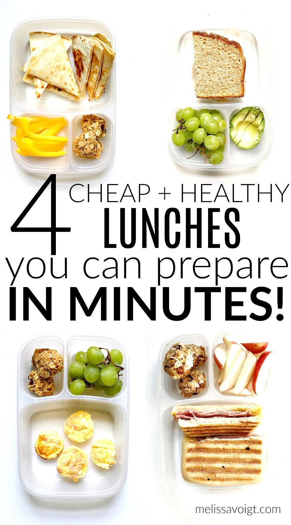 weekly lunch plan