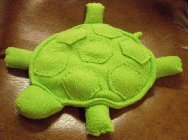 Make A Simple Stuffed Animal Out Of Fleece And Fill It