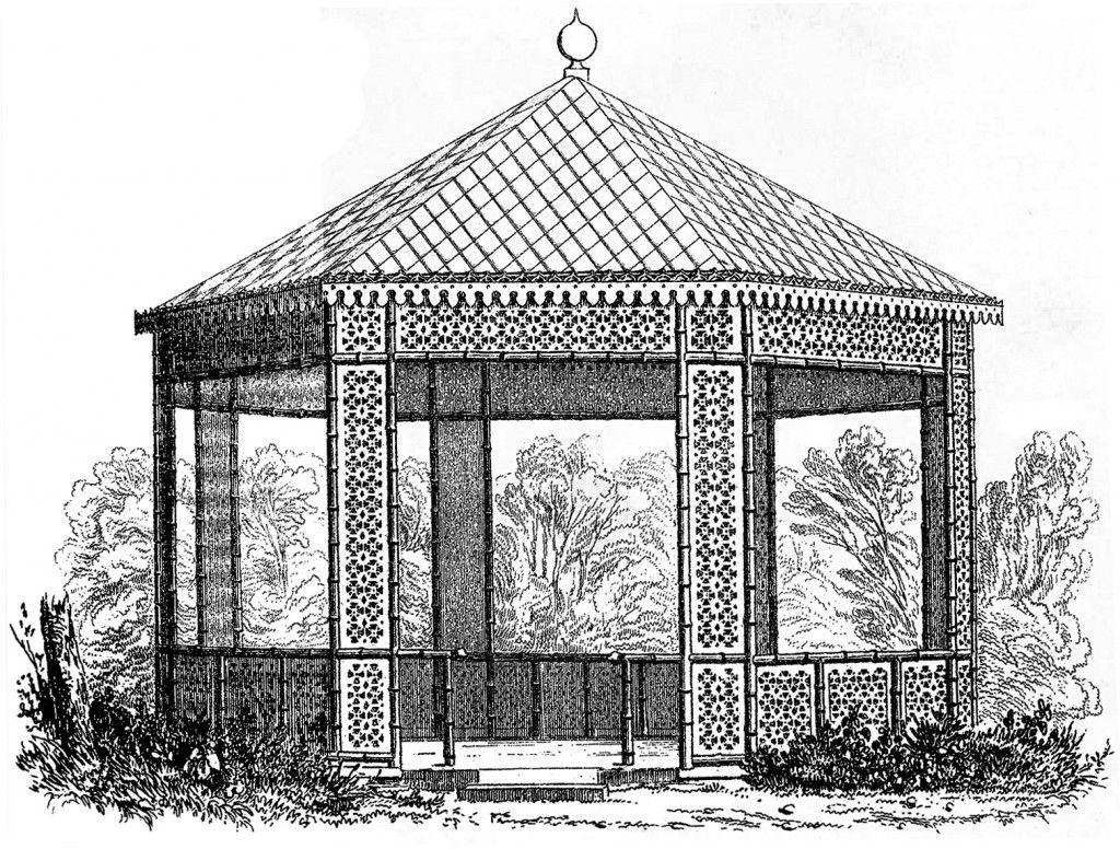 Vintage Gazebo Image Download 1800s French Design