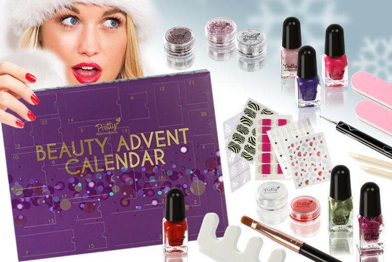 24pc Christmas Nail Beauty Advent Calendar